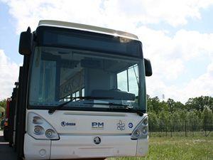 Vodíkový autobus.