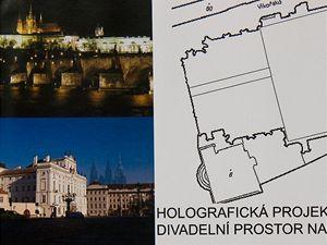 Holografická projekce (Benešová)