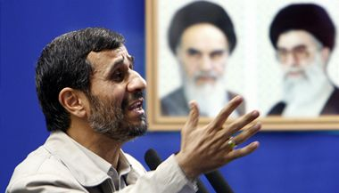 Íránský prezident Mahmud Ahmadínežád