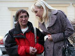 Matka holčičky po setkání s dcerou v Dětském centru Brno v ulici Hlinky