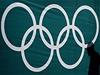 Olympijské kruhy v noviná�ském centru ve Vancouveru | na serveru Lidovky.cz | aktu�ln� zpr�vy