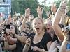 Green Day v Praze. Fanoušci.
