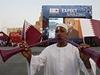 V Kataru za�ala velk� sl�va.