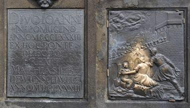 Socha svatého Jana Nepomuckého; Praha - Česká republika