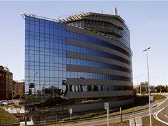 Polygon House - kancelářská budova, administrativní objekt, ve tvaru lodě na Pražské Pankráci. Nyní sídlo ODS