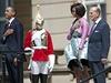 Hymny před Buckinghamským palácem