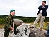Ministr obrany při jednání s místními prohlásil, že v Brdech bude vyhlášeno chráněné území ještě předtím, než armáda újezd opustí.