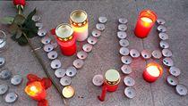 Na Havla vzpomínali lidé v New Yorku, Pobaltí i Moskvě