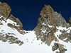 Cesta prudce stoup� do sedla Col Chardonnet 3323 m.