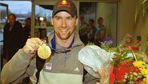 Aleš Valenta se zlatou medailí.