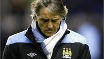 Trenér Manchesteru City Roberto Mancini. | na serveru Lidovky.cz | aktu�ln� zpr�vy