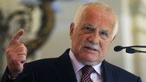 Prezident Václav Klaus p�i svém projevu na �ofínském fóru.  | na serveru Lidovky.cz | aktu�ln� zpr�vy