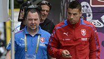 �eský fotbalista Milan Baro� (vpravo) | na serveru Lidovky.cz | aktu�ln� zpr�vy