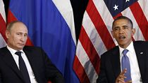 Barack Obama a Vladimir Putin