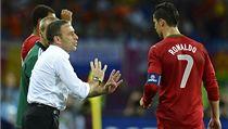 Paulo Bento (vlevo) a Cristiano Ronaldo | na serveru Lidovky.cz | aktu�ln� zpr�vy