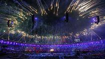 Oh�ostroj na zahájení olympiády v Londýn�. | na serveru Lidovky.cz | aktu�ln� zpr�vy