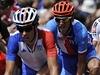 Letní olympijské hry Londýn 2012, Roman Kreuziger (vpravo) na silni�ním závod� cyklist� | na serveru Lidovky.cz | aktu�ln� zpr�vy