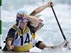 Kanoista Stanislav Je�ek (vpravo) a kajaká� Vav�inec Hradilek v olympijském závod� vodního slalomu vodního slalomu C2  | na serveru Lidovky.cz | aktu�ln� zpr�vy