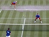 �e�tí tenisté Lucie Hradecká (vlevo) a Radek �t�pánek vypadli v 1. kole smí�ené �ty�hry olympijského turnaje. Po velké bitv� je vy�adili domácí Britové Andy Murray a Laura Robsonová | na serveru Lidovky.cz | aktu�ln� zpr�vy