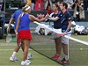 �e�tí tenisté Lucie Hradecká a Radek �t�pánek (vlevo) podlehli Brit�m Andymu Murraymu a Lau�e Robsonové | na serveru Lidovky.cz | aktu�ln� zpr�vy