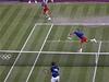 �e�tí tenisté Lucie Hradecká (vlevo) a Radek �t�pánek vypadli v 1. kole smí�ené �ty�hry olympijského turnaje | na serveru Lidovky.cz | aktu�ln� zpr�vy