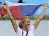 Miroslava Knapková oslavuje první zlatou medaili pro �eskou republiku | na serveru Lidovky.cz | aktu�ln� zpr�vy