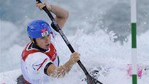 Kajaká�ka �t�pánka Hilgertová skon�ila v závod� vodních slalomá�ek na olympijských hrách v Londýn� t�sn� pod stupni vít�z� | na serveru Lidovky.cz | aktu�ln� zpr�vy