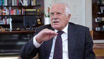 Prezident Václav Klaus p�i rozhovoru pro LN | na serveru Lidovky.cz | aktu�ln� zpr�vy