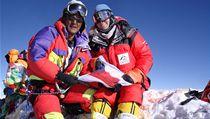 Na Everest vystoupala po boku Tashiho Tenzinga 16. kv�tna 2007.