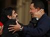 Hugo Chávez s bývalým argentinským fotbalistou Diegem Maradonou | na serveru Lidovky.cz | aktu�ln� zpr�vy
