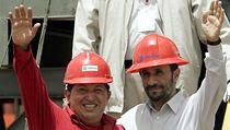 Hugo Chávez a Mahmúd Ahmadíne�ád  | na serveru Lidovky.cz | aktu�ln� zpr�vy