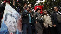 P�íznivci prezidenta Cháveze se p�i�li se svým prezidentem rozlou�it. | na serveru Lidovky.cz | aktu�ln� zpr�vy