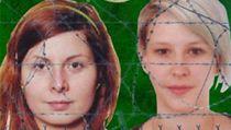 Hanu Hump�lovou (vlevo) a Antonii Chr�steckou unesli ozbrojenci v P�kist�nu ve st�edu 13. b�ezna
