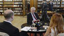 Prezident Zeman byl hostem po�adu Partie. | na serveru Lidovky.cz | aktu�ln� zpr�vy