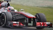 Bristký pilot formule 1 Jenson Button z McLarenu