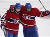 Hokejisté Montrealu Canadians Tomá� Plekanec (vlevo) a P.K. Subban | na serveru Lidovky.cz | aktu�ln� zpr�vy