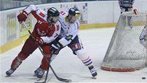 Hokejista Olomouce Jakub Herman (vlevo) | na serveru Lidovky.cz | aktu�ln� zpr�vy