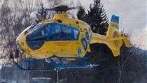 Záchraná�ský vrtulník, který provozuje firma DSA. | na serveru Lidovky.cz | aktu�ln� zpr�vy