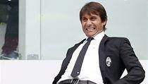 Trenér fotbalistů Juventusu Antonio Conte
