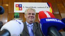 Prezident Milo� Zeman na sjezdu Rady senior�. | na serveru Lidovky.cz | aktu�ln� zpr�vy