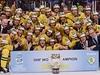 Hokejisté �védska slaví titul mistr� sv�t