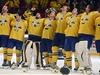 Hokejové mistrovství sv�ta pat�ilo �védsku. T�i korunky porazily ve finále...