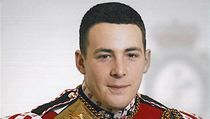 Lee Rigby ve slavnostn� uniform�