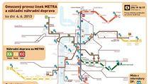 Omezení dopravy v Praze ke 4. �rvnu 2013 | na serveru Lidovky.cz | aktu�ln� zpr�vy