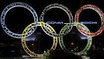 Olympijské kruhy na leti�ti v So�i | na serveru Lidovky.cz | aktu�ln� zpr�vy