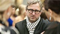 Jan H�ebejk na festivalu p�edstavil film L�b�nky, kter� uzav�r� trilogii film� s tematikou pam�ti a sv�dom�