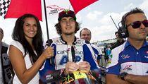 Český motocyklový závodník ve tříde MotoGP Karel Abraham