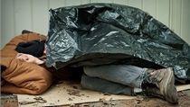 Bezdomovec (ilustra�n� foto)