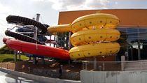 Testovac� den v Aqualand Moravia