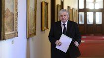 Premiér Ji�í Rusnok p�ichází na mimo�ádné jednání vlády, na kterém minist�i schvalovali své programové prohlá�ení.  | na serveru Lidovky.cz | aktu�ln� zpr�vy